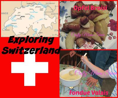 Exploring Switzerland Collage