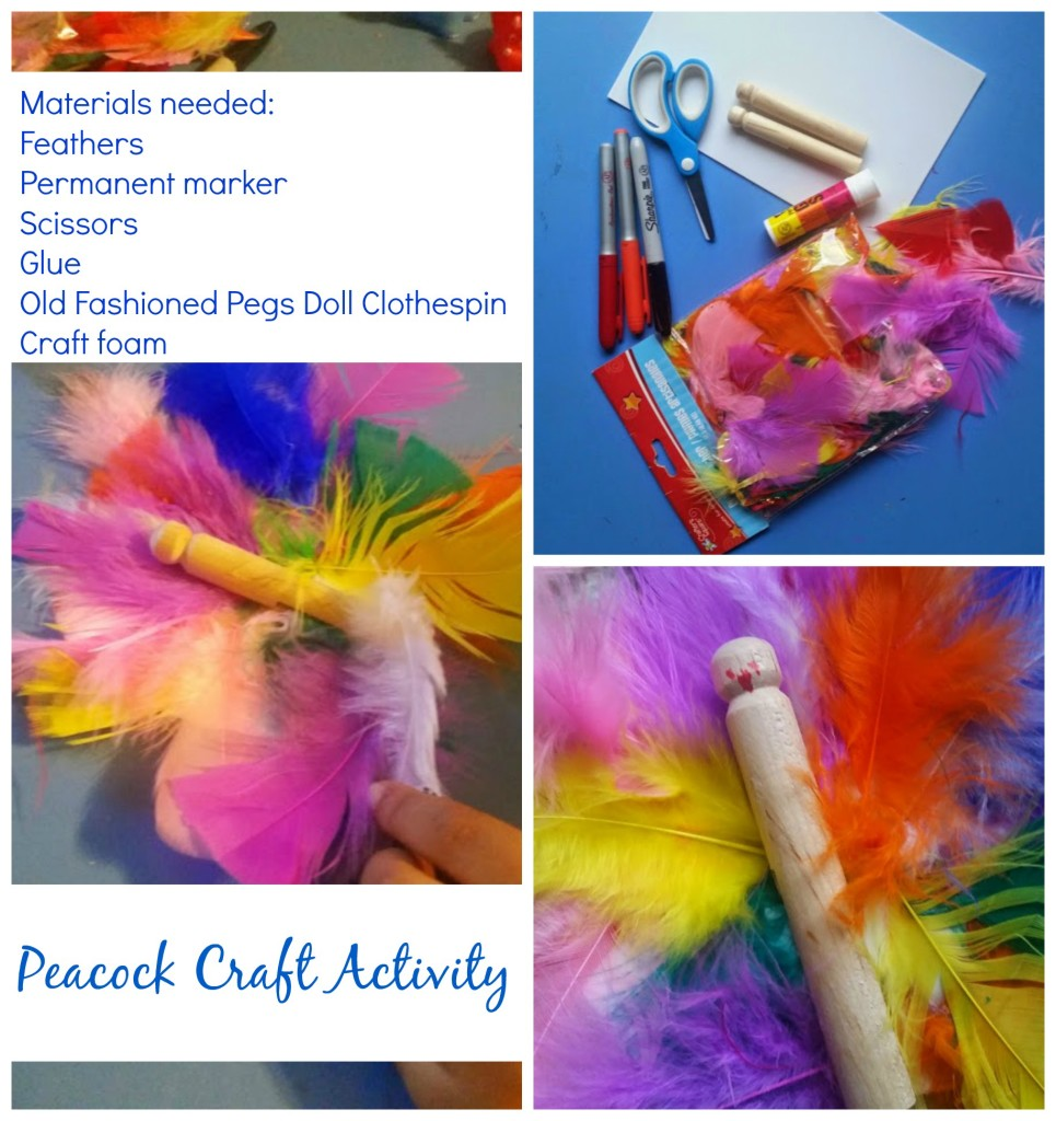 Poppy the Proud: Indian Fable and Peacock Craft | Multicultural Kid Blogs
