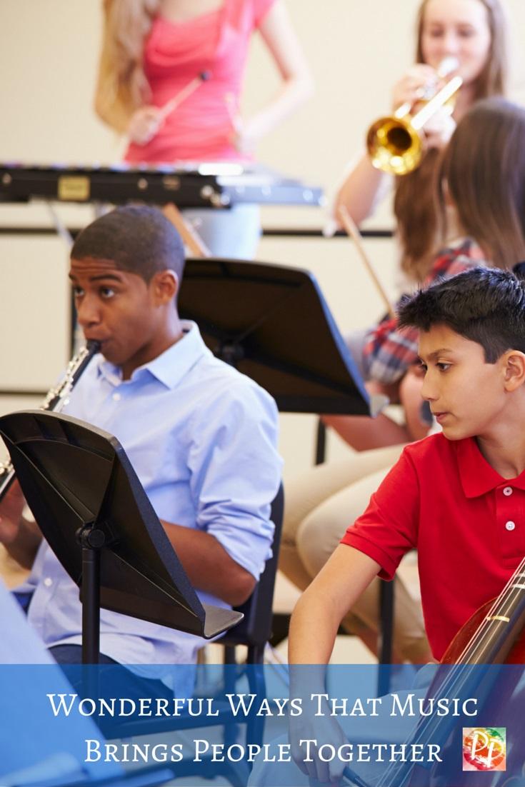 Wonderful Ways that Music Brings People Together kids music