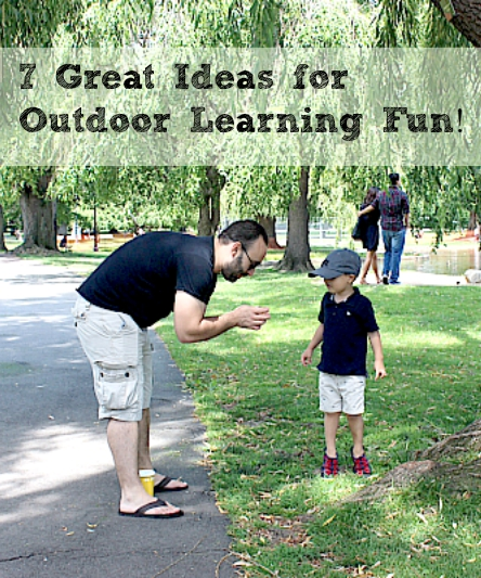 7 Great Ideas for Outdoor Learning Fun! | Multicultural Kid Blogs