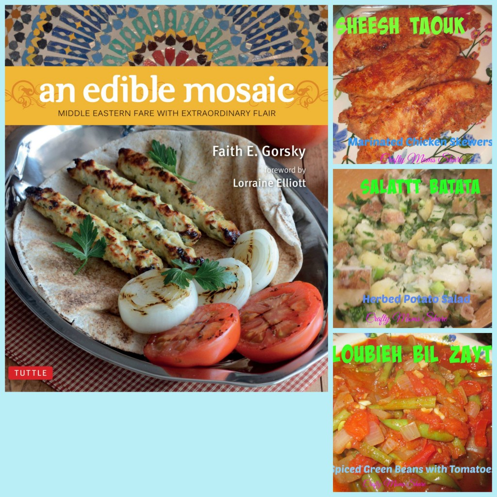Edible mosaic Collage