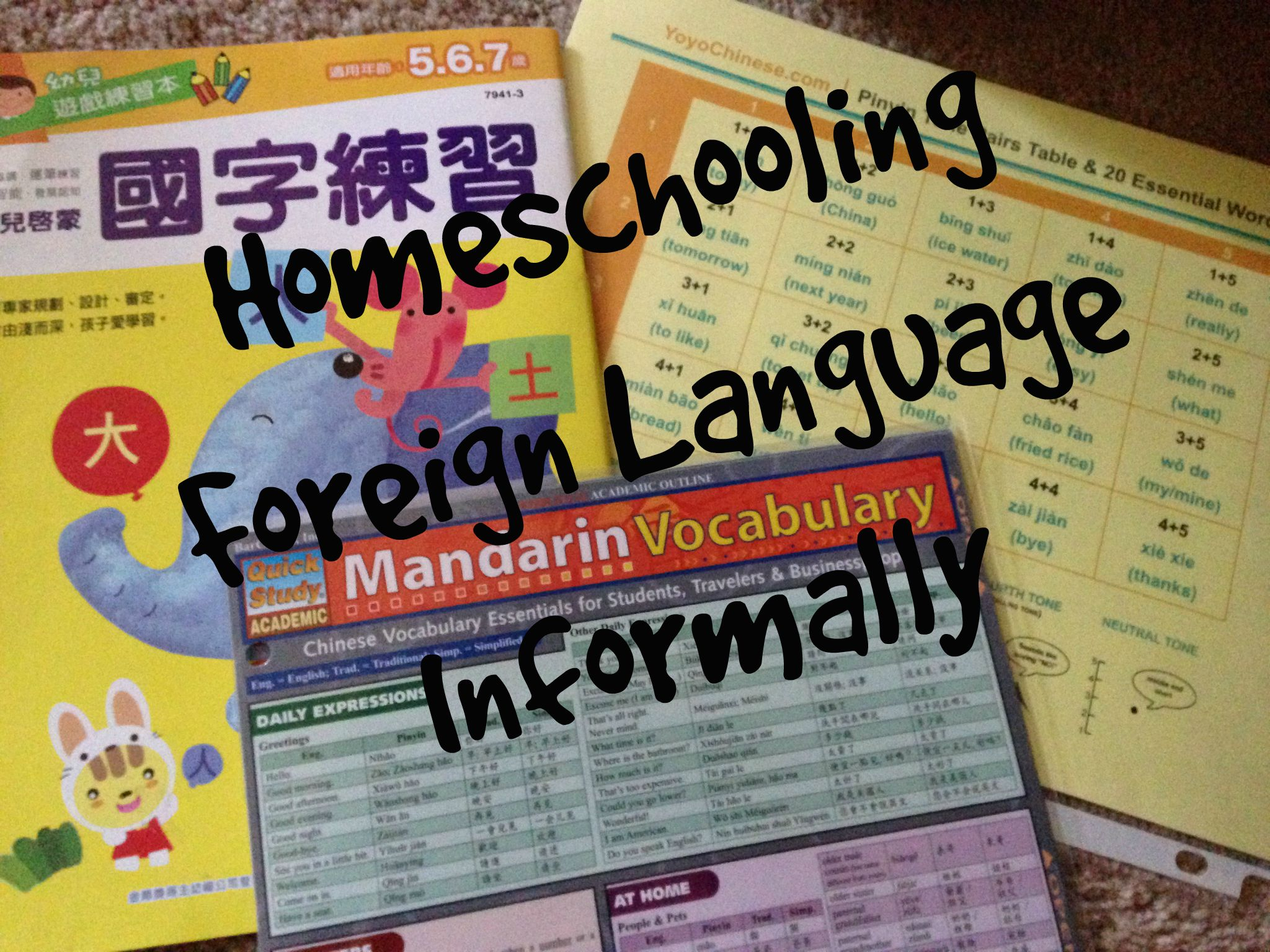 Homeschooling Foreign Language Informally | Multicultural Kid Blogs