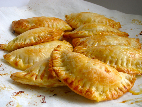 Photo credit: http://foodalogue.com/2011/07/creamed-corn-empanadas-with-orange-honey-drizzle.html