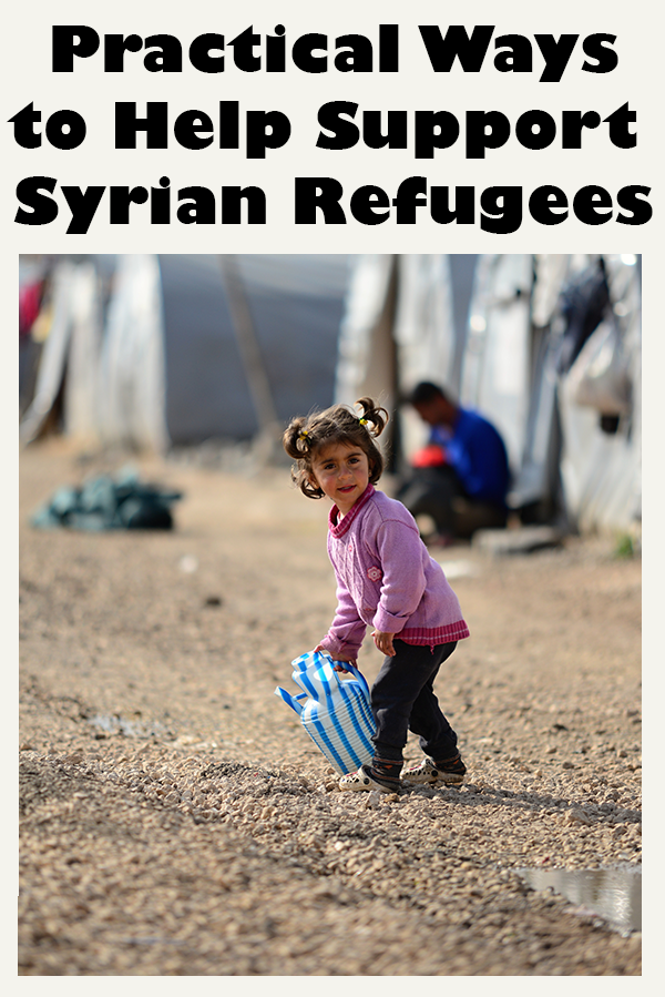 Practical Ways to help Syrian Refugees in Syria and around the world. From International Charities to Grass Root Organizations