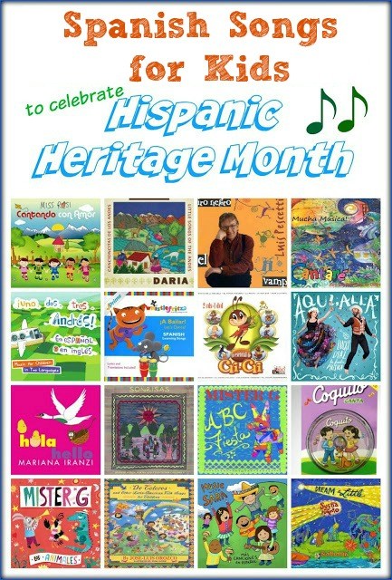 Spanish songs for kids help families celebrate Hispanic Heritage Month.