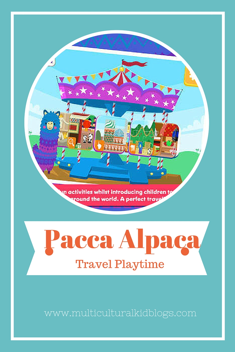 Review of the new travel app for kids from Pacca Alpaca | Multicultural Kid Blogs