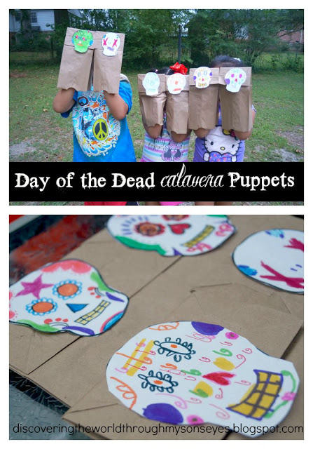 Calavera Puppets for Day of the Dead