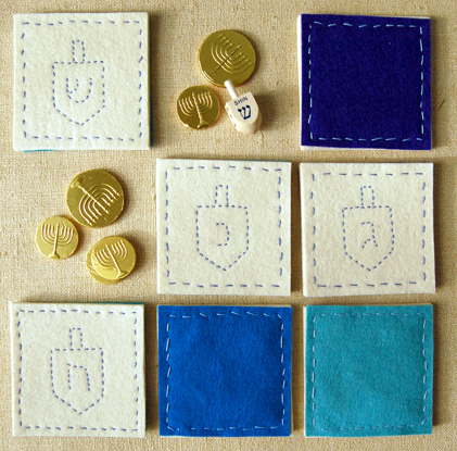 Hanukkah Coasters Purl Soho Create