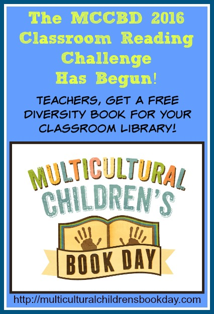 Classroom reading challenge to encourage teachers to share multicultural kids books with their classes.