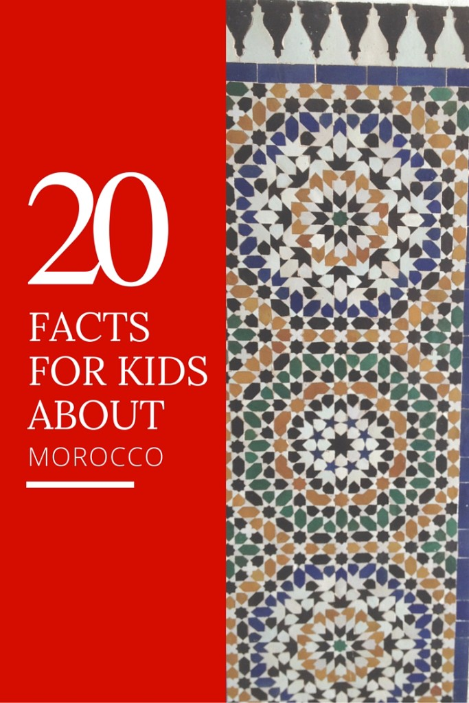 20 Facts for kids about Morocco