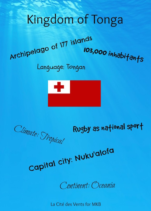 Basic facts about Tonga for kids.