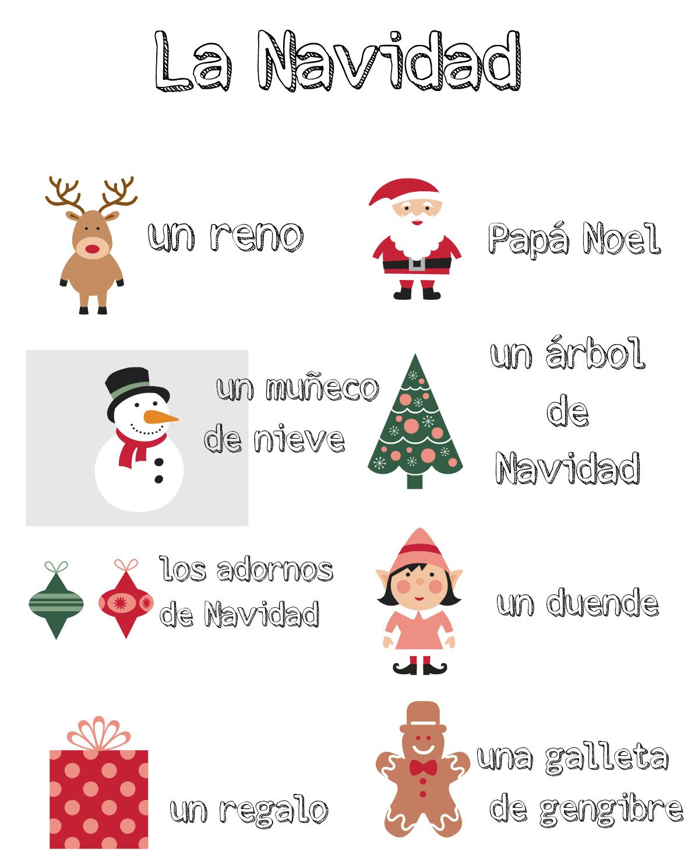 Multilingual Christmas Printables Multicultural Kid Blogs