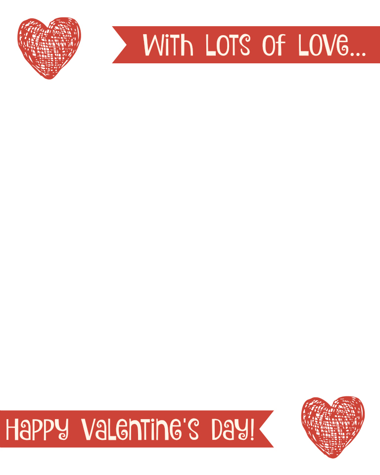 Valentine S Day Printable Multilingual Love Letter Multicultural