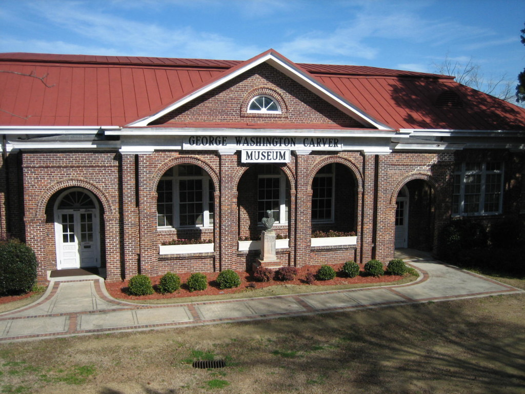 George Washington Carver Museum in Tuskegee, Alabama