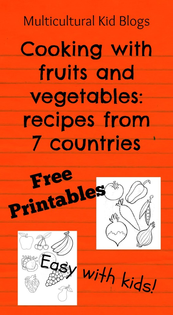 Family Recipes from 7 Countries {Free Printables}