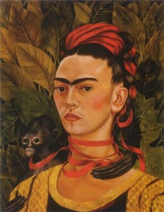 Frida Kahlo is one of the most famous Mexican women artists.