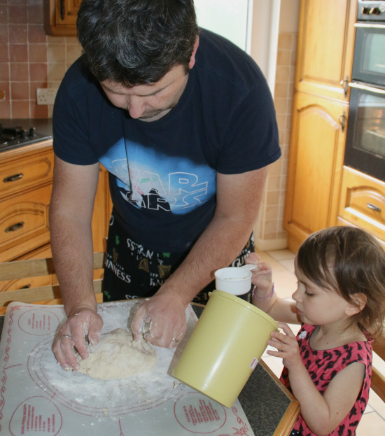 Making Irish Soda bread is a family tradition