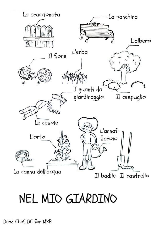 Italian-Gardening-vocabulary