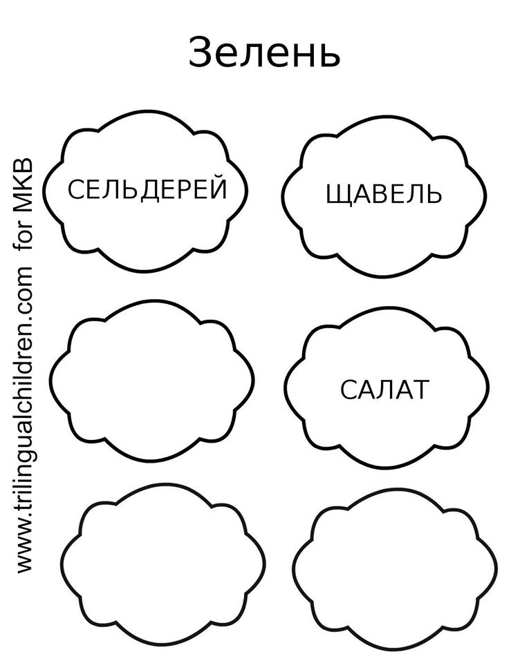Russian herb planter labels