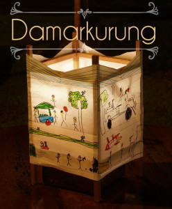 This Indonesian craft, known as a damarkurung, is a kind of lantern.