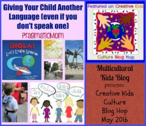 Creative Kids Culture Blog Hop May 2016