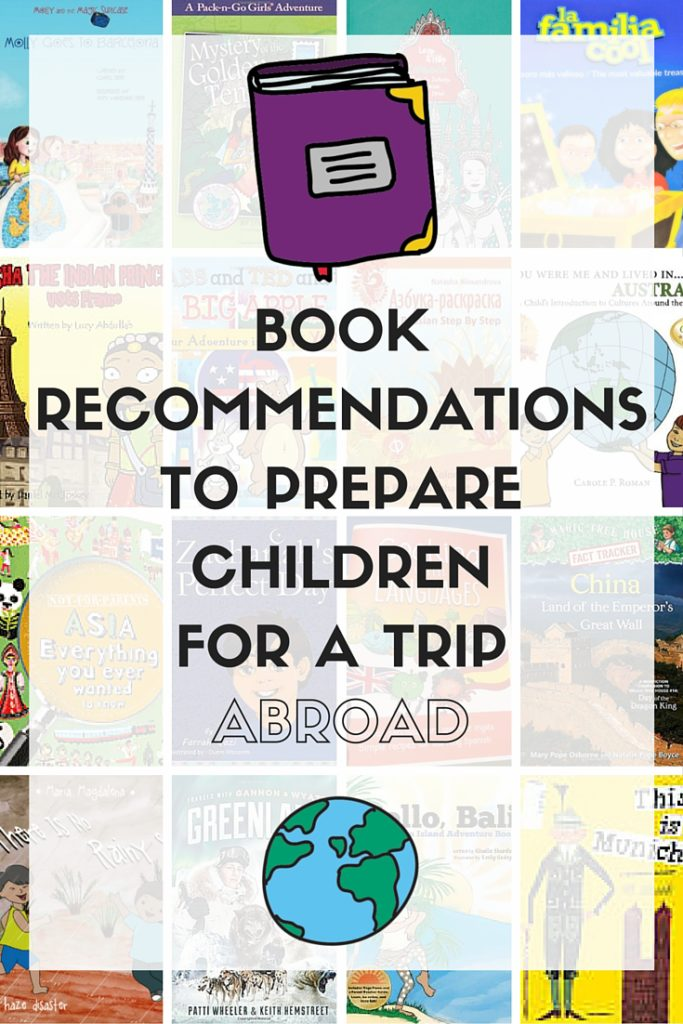 Book recommendations to prepare children for a trip abroad