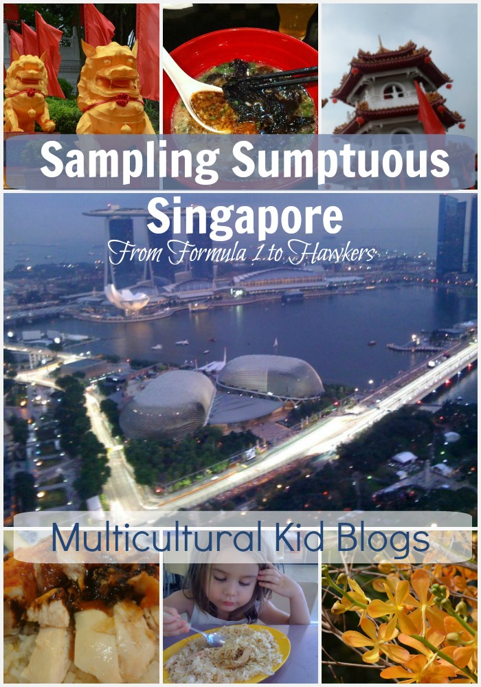 Sampling Sumptuous Singapore from Formula 1 to a hawker centre