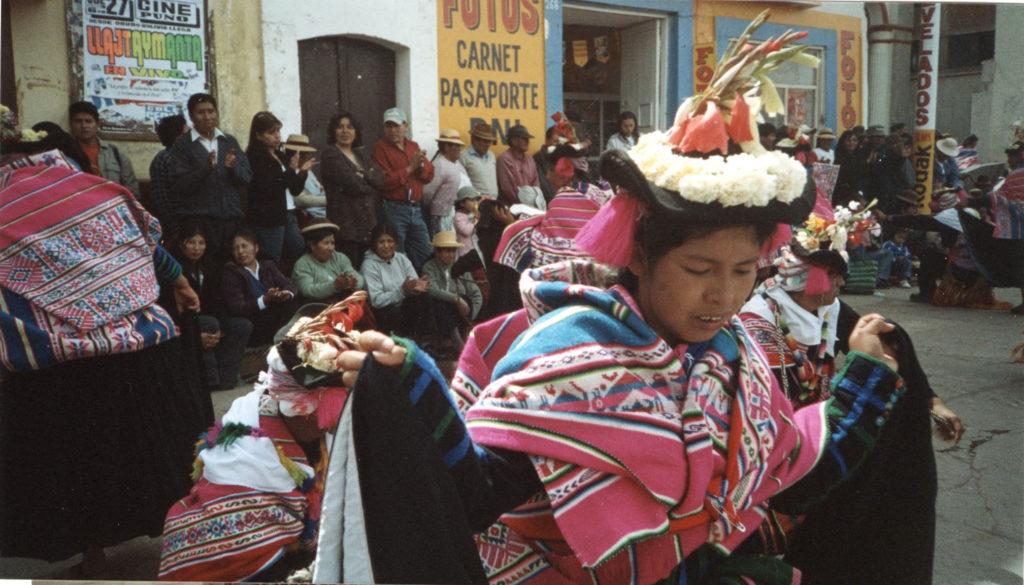 aymara dancer