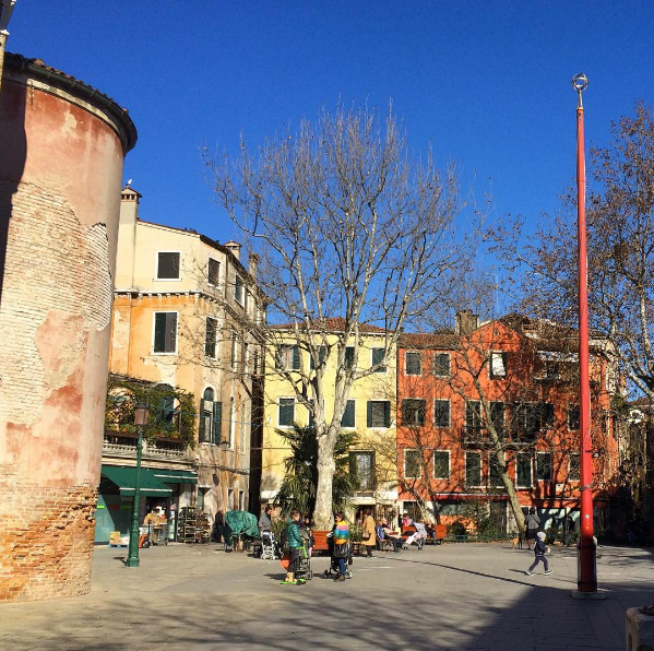 Venice with kids, Campo San Giacomo