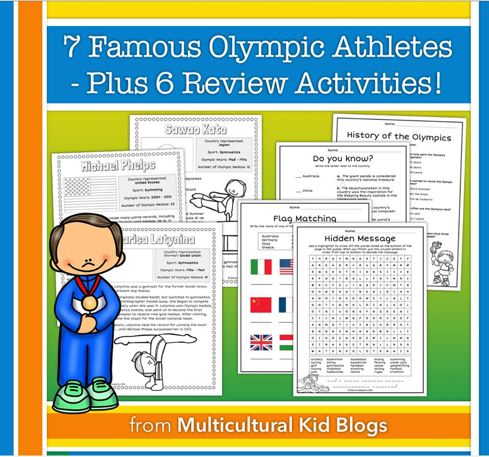 Summer Games Unit Activity Pack for Ages 8-12 | Multicultural Kid Blogs