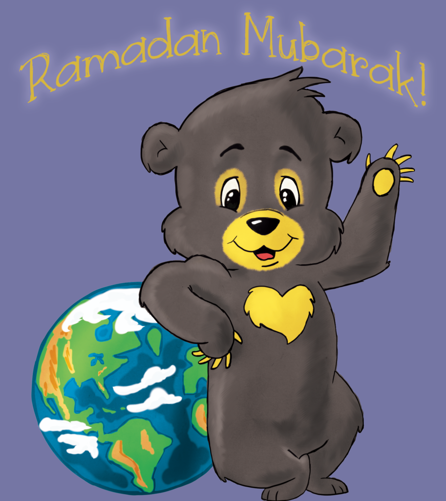 Joy Sun Bear Celebrates Ramadan in Iran