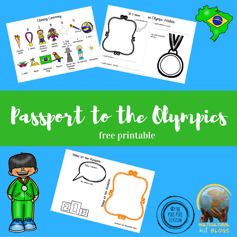 graphic relating to Passport Printable named Pport in direction of the Olympics Printable - Multicultural Little one Weblogs