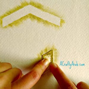 Hajj Craft: Light Ray Kaab'a Oil Resist Tutorial