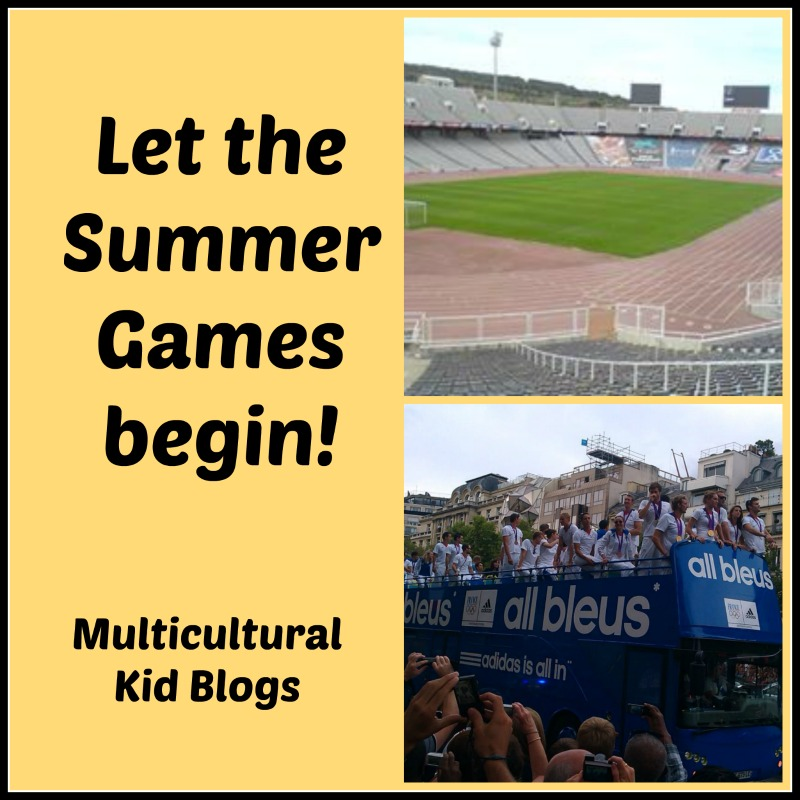 Let The Summer Games Begin! on Multicultural Kid Blogs!