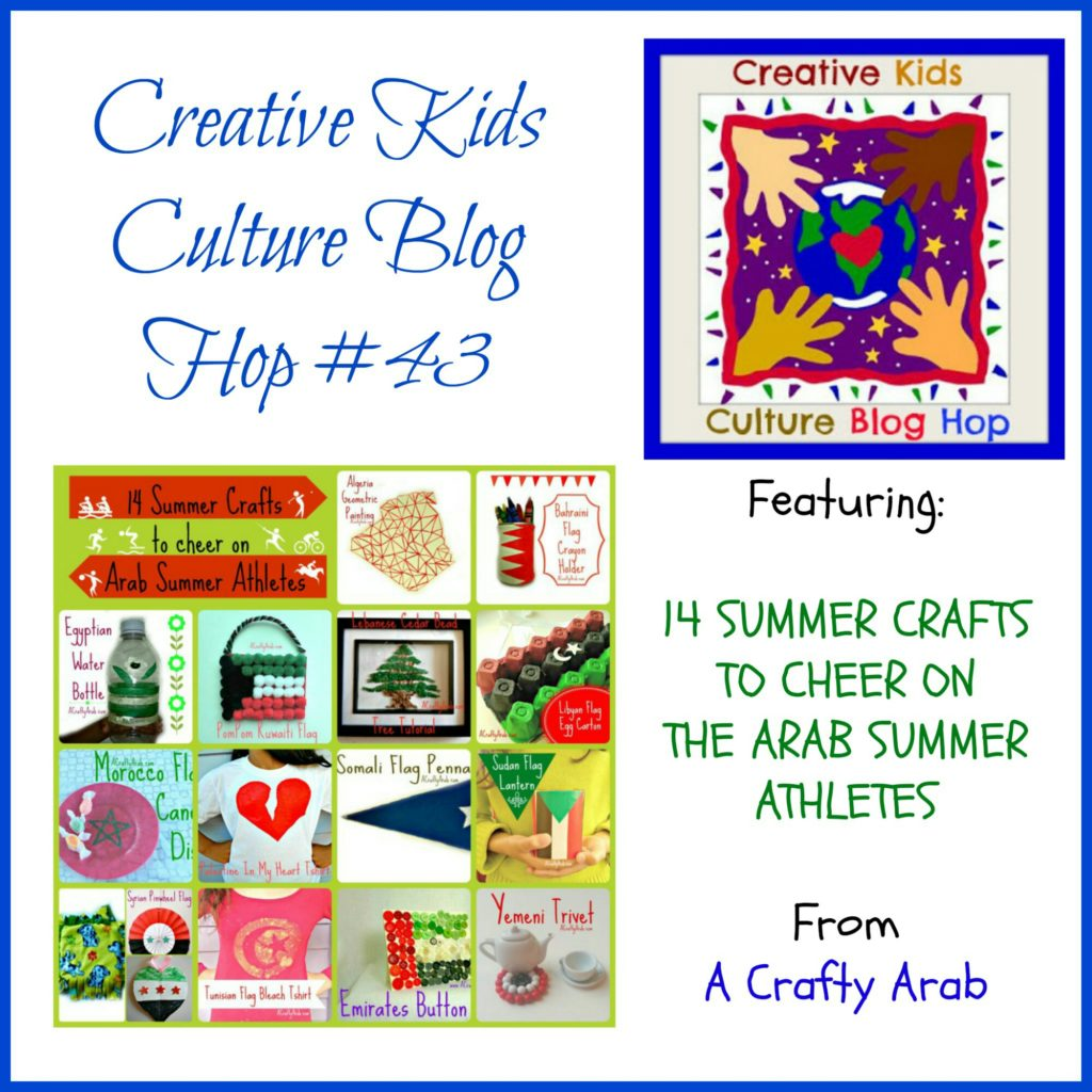 Creative Kids Culture Blog Hop #43