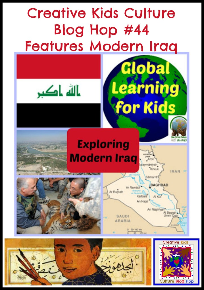 Creative Kids Culture Blog Hop Explores Modern Iraq