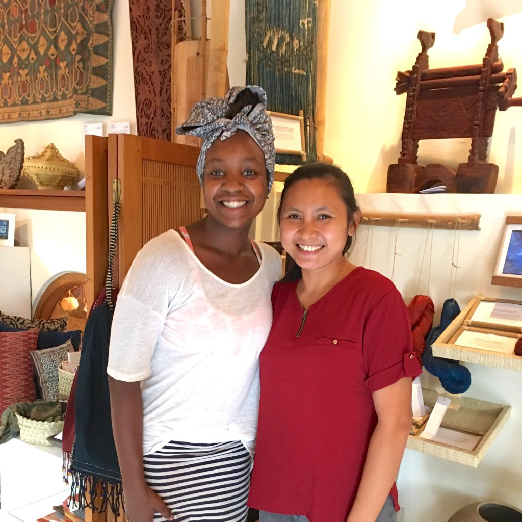 Anjelica Malone and Tutut : Threads of Life Bali