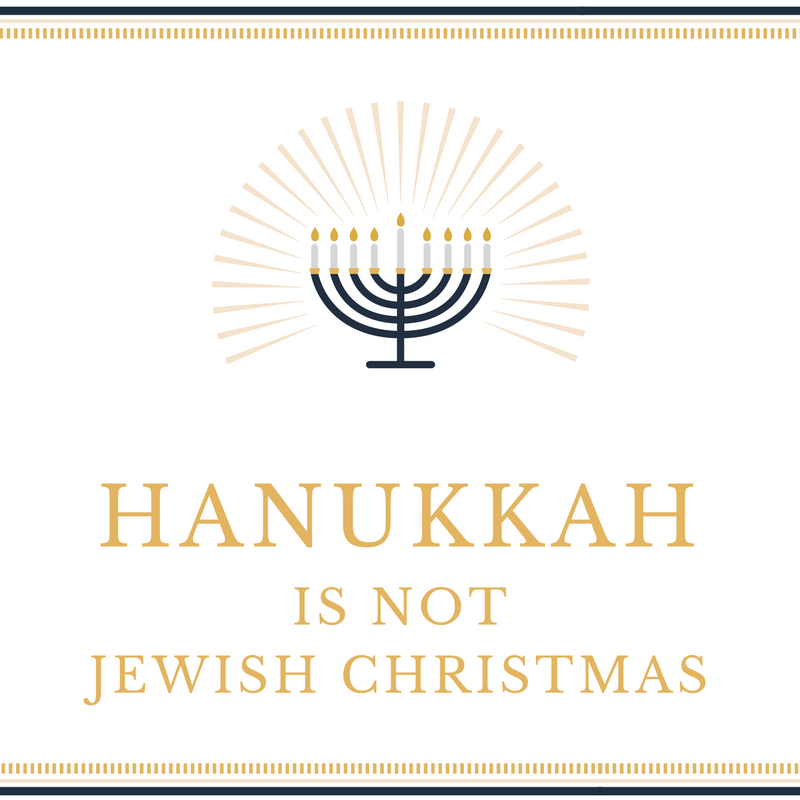 Hanukkah Is Not Jewish Christmas