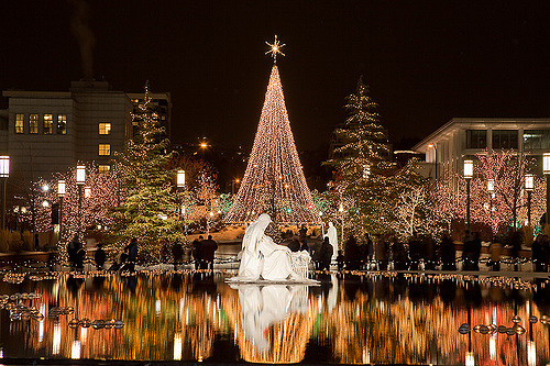 temple-square christmas traditions