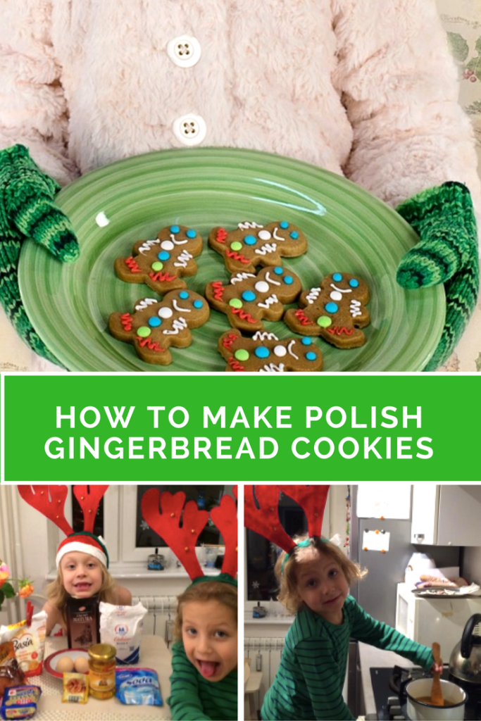 Polish gingerbread cookies