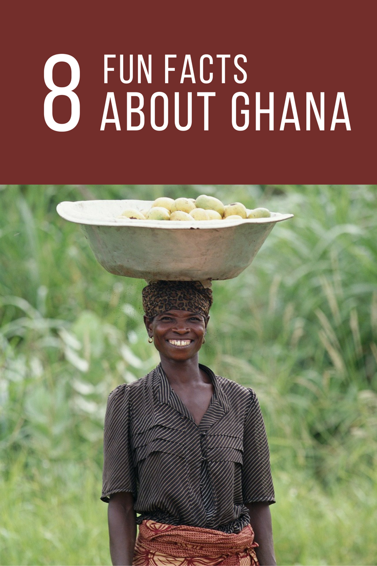 Fun Facts About Ghana on Easter Worksheet
