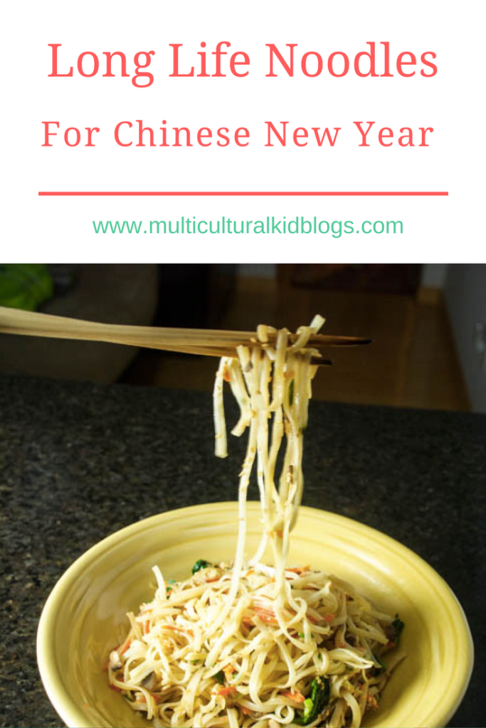 Long Life Noodles For Chinese New Year - Multicultural Kid ...