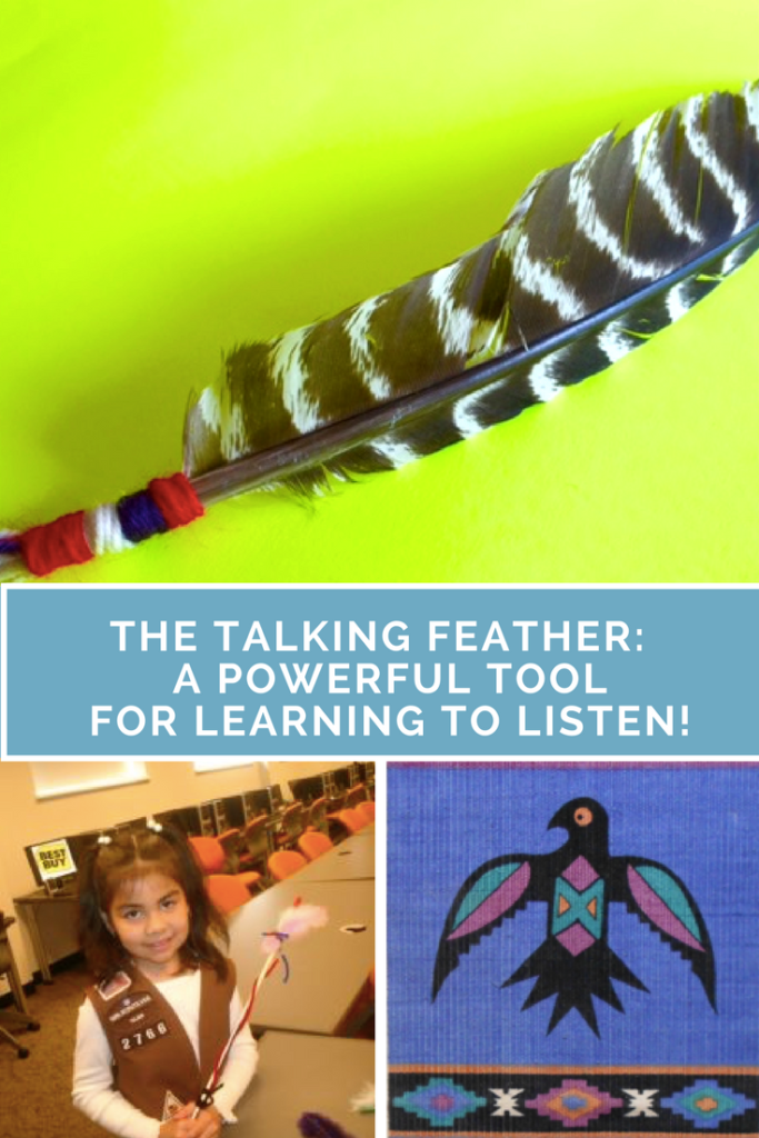 The Talking Feather on Multicultural Kid Blogs