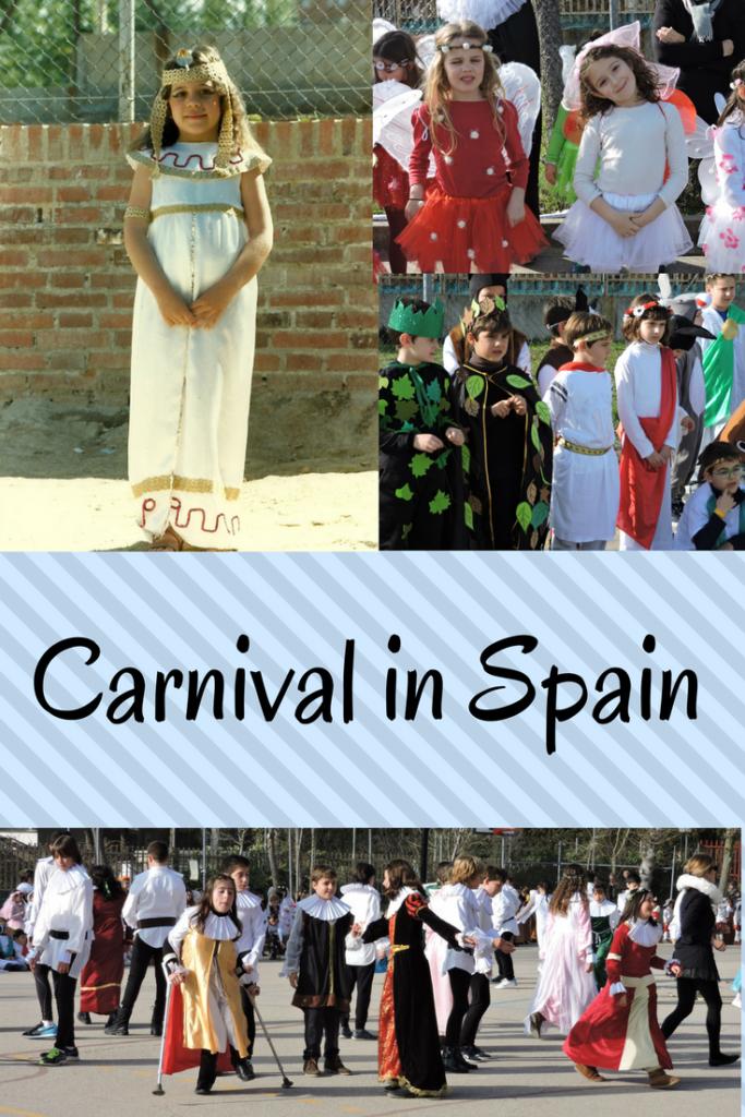 Carnival in Spain