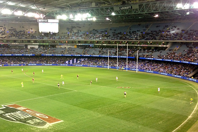 Australia Travel with Kids - Aussie Rules Football Match