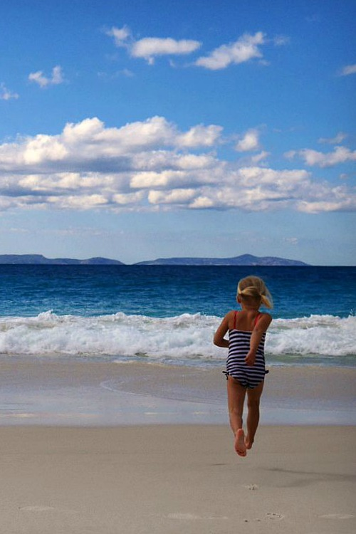 Australia Travel with Kids - Little Beach Western Australia