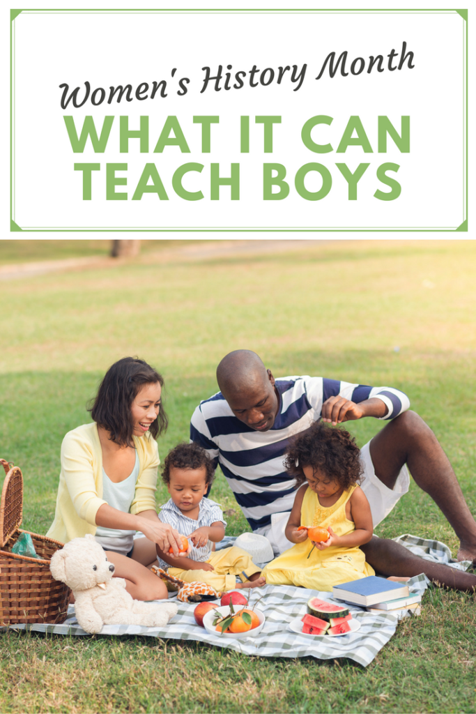 Women's History Month: What It Can Teach Boys