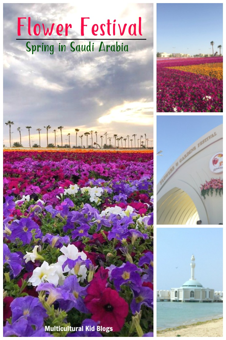 Flower Festival Spring in Saudi Arabia