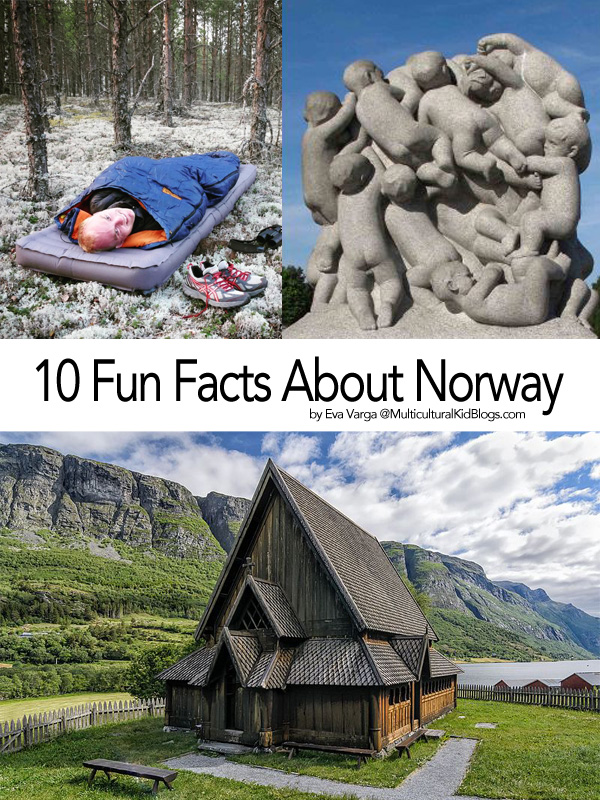 10 Facts About Norway by EvaVarga@MulticulturalKidBlogs.com