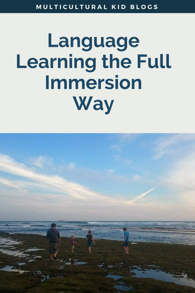 Language Learning the Full Immersion Way